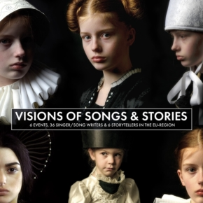 Op 1 februari 2020 is er de vierde  editie van Visions of Songs & Stories in theater de Karroessel te Geleen.